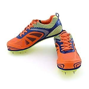 Vector X Bolt Spike Running Shoes, Size 2