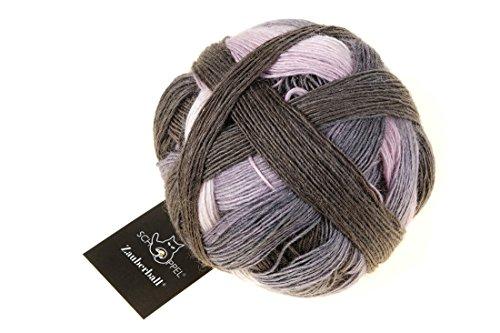 Schoppel Zauberball Fb. 2364 Tonspur, Sockenwolle mit Farbverlauf zum Stricken und Häkeln