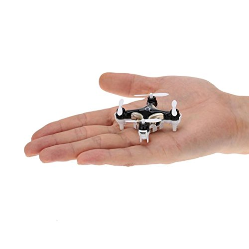 Malloom-Cheerson-CX-10C-Mini-24G-4CH-6-Axis-LED-RC-Quadcopter-con-cmara-RTF-Negro