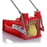 SDFIUH Edelstahl Gemüse Kartoffelhobel Cutter Chopper Chips, die Werkzeug schneiden Pommes Gerät Kartoffel schneiden Home Küchenhelfer