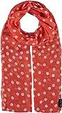FRAAS Damen-Schal mit Punkte-Muster - perfekt für Frühling und Sommer - luftiges Mode-Accessoire Koralle