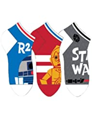 disney Pack 3 calcetines jacquard royal Star Wars