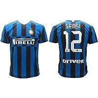 L.C. Sport srl Maglia Sensi Inter 2020 Home Ufficiale Stagione 2019 2020 Replica Autorizzata Stefano 12 (10 Anni)