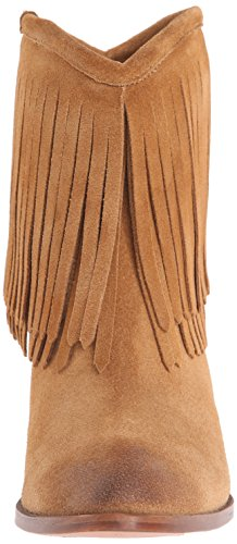 Frye Ilana Fringe Short Cuir Bottine Sable