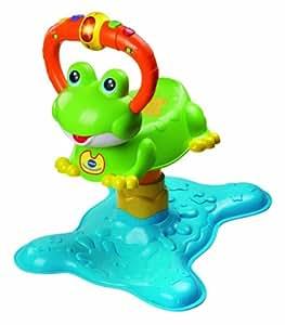 VTech – Bounce & Discover Frog – Ninon la Grenouille à Rebonds Version Anglaise (Import Royaume-Uni)