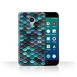 Phone Case for Meizu MX4 Pro Watercolour Mermaid Scales