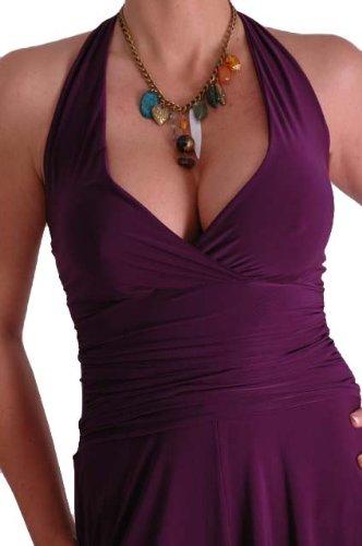 EyeCatch - Nicole Licou Cou Robe Violet - Violet