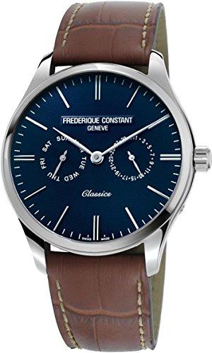 Frederique Constant Geneve Classics Quartz FC-259NT5B6 Orologio da polso uomo Con cinturino di riserva