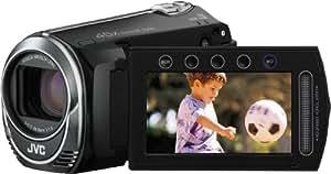 JVC GZ-MS215BEU Camcorder (SD/SDHC-Kartenslot, 39-fach optischer Zoom, 6,9 cm (2,7 Zoll) Display) schwarz