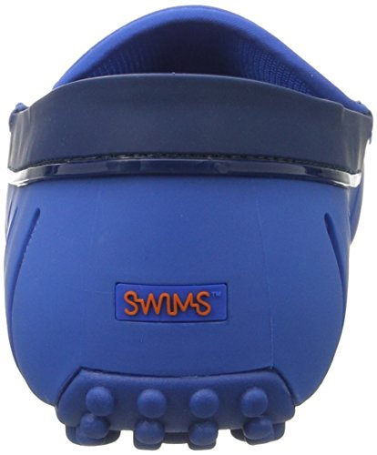 Swims Herren Penny Loafer Driver Mokassin Blau (Blitz blue Shiny Dt)