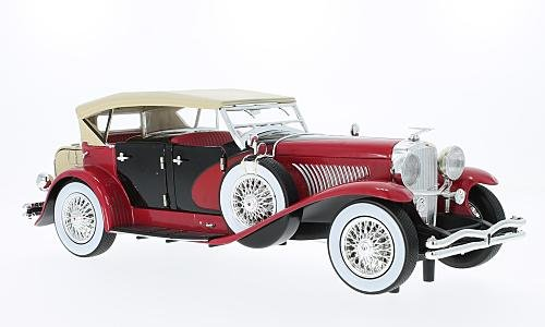 duesenberg-ii-sj-1934-rot-beige-modellauto-118-greenlight-collectibles