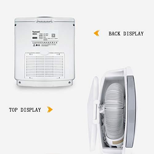 QXKMZ Asciugatrice Asciugatrici a condensazione asciugatrice Candy Sistema di Controllo dell'asciugatura Intelligente a Caduta di Aria