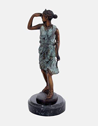 Grüne Kleid Göttin (Diana - Bronzefigur der Göttin der)