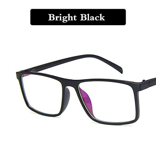 TYJYY Sonnenbrillen Retro Brillen Männer Frauen Platz Brillengestell Unisex Optische Brillen...