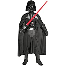 Star Wars - Disfraz de Darth Vader para niños, 5-7 años (Rubies 882014-M)