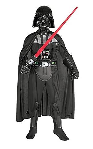 Rubies 3882014 - Darth Vader Deluxe Child Kostüm, M (Großbritannien Kostüm)
