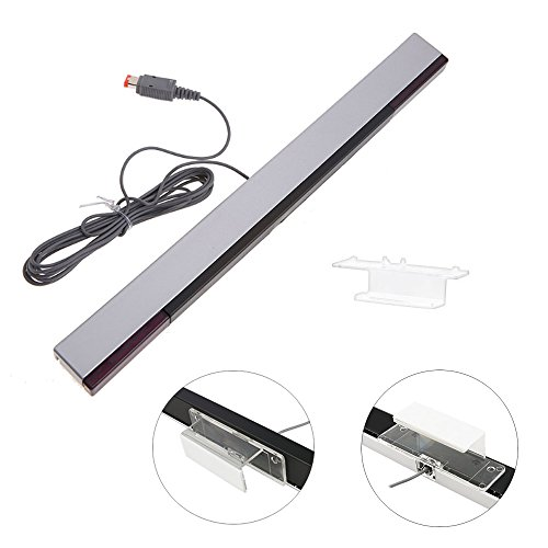 CAVN nuevo repuesto cable barra de sensores de rayos infrarrojos para NIntendo Wii y la consola Wii U