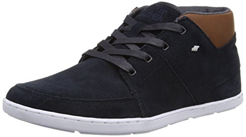 Boxfresh - Cluff, Pantofole a Stivaletto Uomo Blu (Blue (Dark Navy))