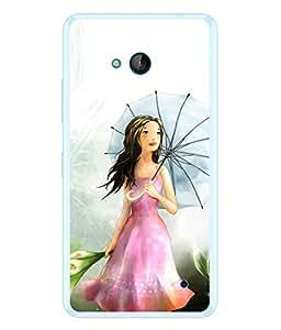 PrintVisa Animated Character High Gloss Designer Back Case Cover for Microsoft Lumia 640 LTE