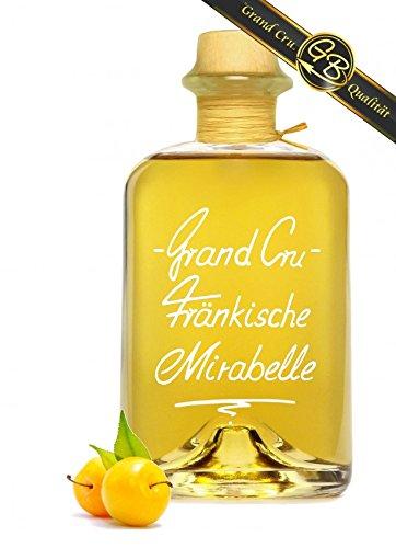 Grand Cru Fränkische Mirabelle sehr fruchtig u. weich 0,5L 40% Vol Schnaps Obstler Spirituose