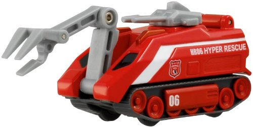 Tomica Hyper Rescue HR06 Mobile unmanned water cannon truck (2009) (japan import)