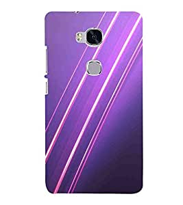 Huawei Honor 5X :: Huawei Honor X5 :: Huawei Honor GR5 infinity light, abstract backgrounds, purple background Designer Printed High Quality Smooth Matte Protective Mobile Case Back Pouch Cover by Paresha