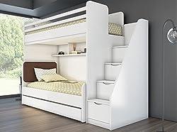 Etagenbett Mit Treppe Und Rutsche : Hochbett mit rutsche einrichtungsideen für kinderzimmer