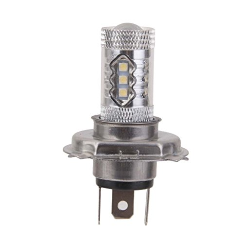 Generic 80W White 6000K H4 CREE LED Car Fog Light Bulb Headlight High Low Beam Lamp  available at amazon for Rs.760