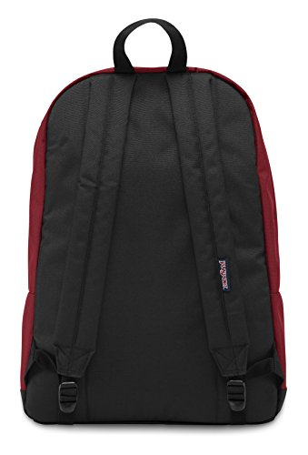 """Best jansport backpack in India 2020 JanSport City Scout 31 liters Polyester Red 15.6"""" Laptop Backpack Image 2"""