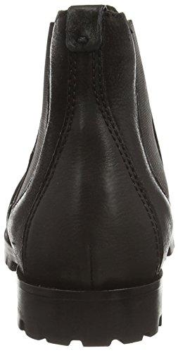 Belmondo  7032680, Bottes Desert courtes, doublure froide femmes Noir - Noir