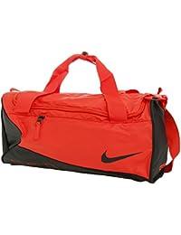 Nike Y Nk Alpha Duff Bolsa de Deporte, Hombre, Naranja (Max Orange / Black / Black), Talla Única