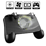Mobile Game Controller, 4-in-1 Upgraded Version Gamepad with Cooling Fan Power Bank, Shoot