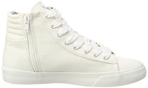 REPLAY Edna, Sneaker a Collo Alto Donna Bianco (Off Wht)