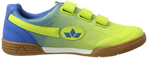 Lico Bernie V, Scarpe Sportive Indoor Unisex – Adulto Giallo (Lemon/blau)
