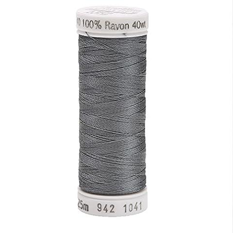 Sulky Md Dk Gray-Thread Rayon 40 Sulky, Acrylic,
