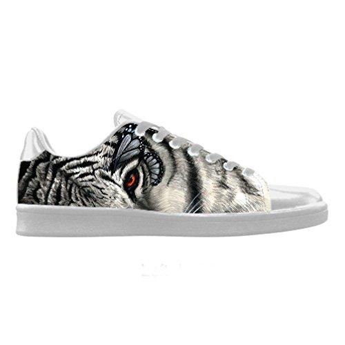 Cheese Decoración navideña regalo Tigre personalizada Scorpius Zapatillas Deportivas para Hombre, 44EU