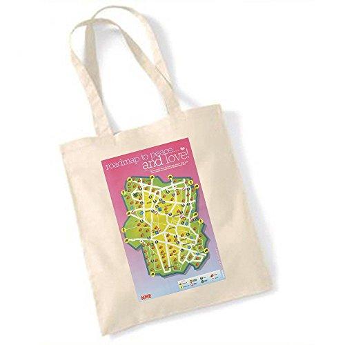 Glastonbury site Poster Carte Année 2003 Totebag