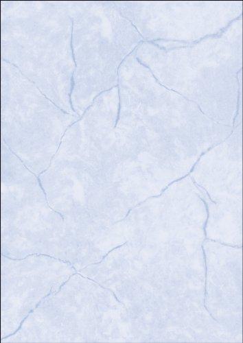 sigel-papel-50-hojas-a4-diseno-de-textura-de-granito-color-azul