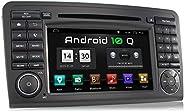 XOMAX XM-09ZA-L9 Autoradio mit Android 10 passend für Mercedes W164 I 2GB RAM 32GB ROM I GPS Navigation I DVD,
