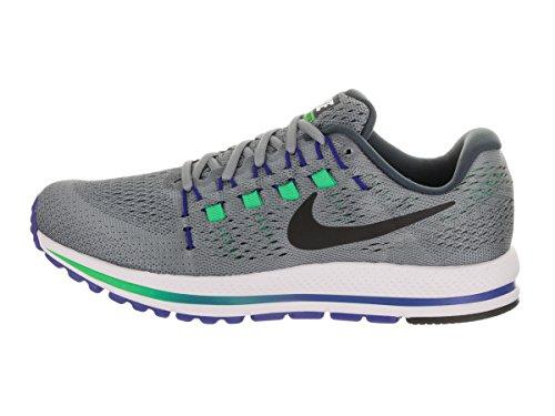 Nike Air Zoom Vomero 12, Chaussures de Course Homme STEALTH/BLACK-BLUE FOX-ELE