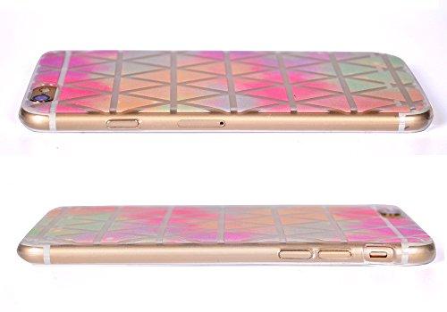 ARTLU® Neue Modelle TPU Silikon Schutz Handy Hülle Case Tasche Etui Bumper für Apple iPhone 6 plus 6S plus - Henna Series Apple W14 W5