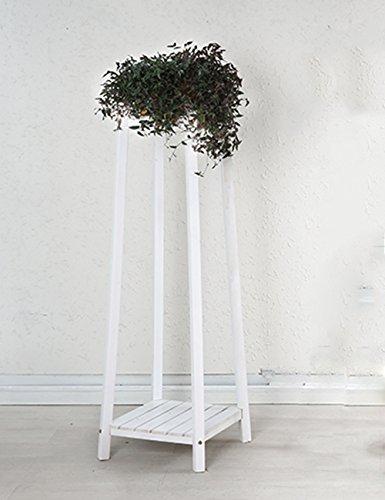 supporto-vaso-di-fiori-indoor-fiore-rack-balcone-bianco-di-legno-solido-flower-pot-rack-doppio-strat