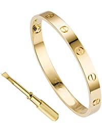 2dd90f76132d QUEEN JULIA - Pulsera de Oro para Mujer