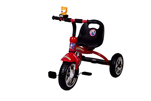 HLX-NMC KIDS TRICYCLE RACING RED  available at amazon for Rs.1800
