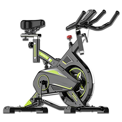 Rouyuan computer di allenamento muto ed ellittica cross trainer e fitness cardio weightloss workout machine fitness bike (colore : verde, dimensione : free size)
