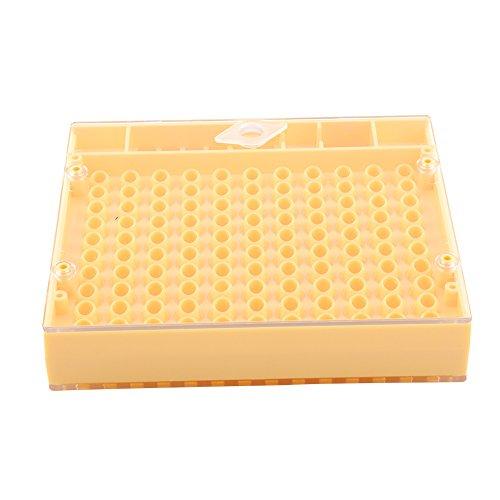 Dewin Kit d'élevage de Reine - Kit d'élevage de Reine, Outil de Culture d'abeilles, Boîte d'apiculture en Plastique, Coupe de cellules, Jeu de Tubes de marquage, 155Pcs