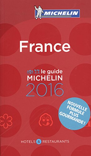 France 2016 (Michelin Red Guides and National Guides) por Michelin
