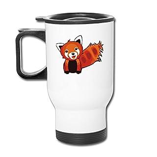 Cute Red Panda Animation Coffee Travel Mug 14 Oz