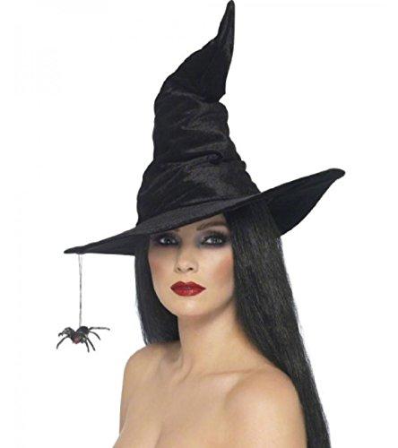 Inception pro infinite cappello strega - colore nero - carnevale - halloween - donna - uomo