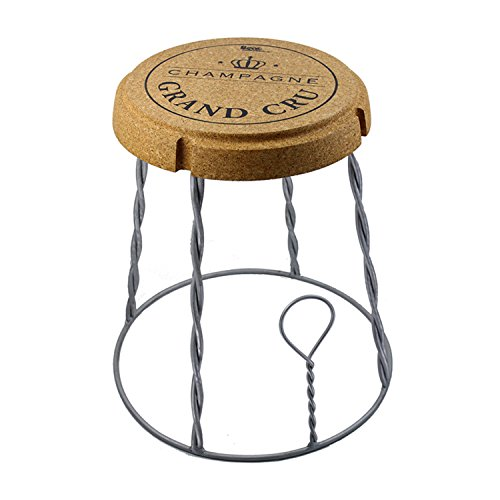 beat champagne 2 cork series tabouret table m tal et li ge design par mini garibay meubles. Black Bedroom Furniture Sets. Home Design Ideas